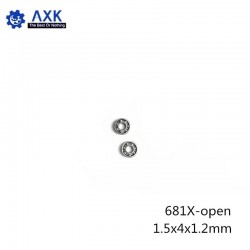 681X-OPEN Ball Bearing 1.5*4*1.2 mm Non Standard 681X Deep Groovee