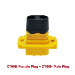 XT60E-F XT60H XT60 Large Current Male Female Lipo Battery Connector Wire Cable Plug