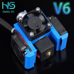 All Metal V6 J-head Hotend Bowden Extruder Kit For E3d V6 Hotend Cooling Fan Bracket Block 3D Printers Parts