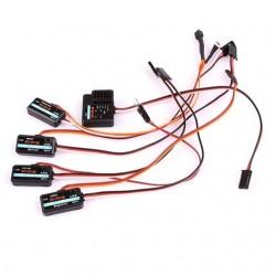 FlySky FS-CEV04 FS-CPD01 FS-CPD02 FS-CTM01 FS-CVT01 Telemetry Data Module Set