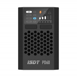 ISDT & URUAV PD60 60W 6A Battery Balance Charger Type-C Input for 1-4S Lipo Battery