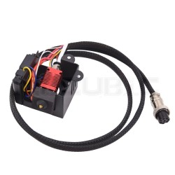 Creality CR-10/SFull Assembled Extruder Kit With 12V Double Fans Cover Air Connections 0.4mm Nozzle Heating Block