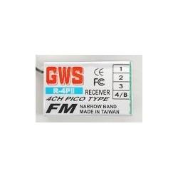 GWS R4PII Pico 4ch RX