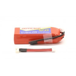 OUTRAGE XP25 4S1P 14.8V 1800mAH 25C - XTREME SERIES