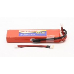 OUTRAGE XP25 3S1P 11.1V 2500mAH 25C - XTREME POWER SERIES