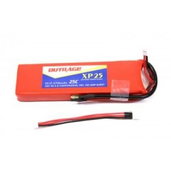 OUTRAGE XP25 2S1P 7.4V 3700mAH 25C - XTREME POWER SERIES