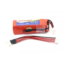 OUTRAGE XP25 4S1P 14.8V 800mAH 25C - XTREME SERIES