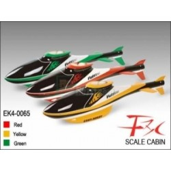 Scale Cabin F3C (Yellow) - Belt CP V1/2