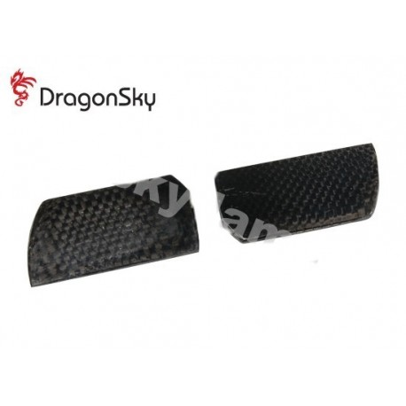 DragonSky (DS-F-58C-01) Carbon Fiber Flybar Paddles 58mm