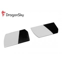 DragonSky (DS-F-58G-01) Glass Fiber Flybar Paddles 58mm