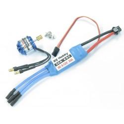 Elf Hobby (EH000-004) 4200Kv Outrunner Brushless Motor & 30A ESC