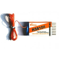 Single Conversion RS810II Receiver 8CH