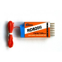DUAL Conversion RS820II Receiver 6CH - 35MHZ