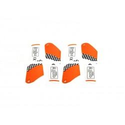 Copter V-MAX/MAX-Z 6020 Main Rotor Blades (Orange)