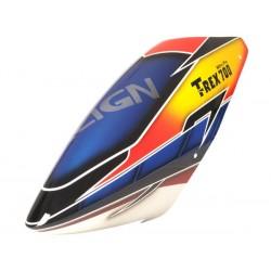 FUSUNO THUNDER STORM Airbrush Fiberglass Canopy - T-Rex 700