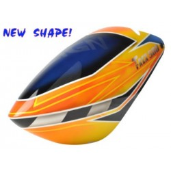 FUSUNO New Design FLASHERS Airbrush F/glass Canopy EX T-Rex500