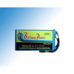 BP28-860/3S 11.1V 860mAh 28C