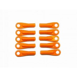 HI-VIZ Control Ball Joints - FLOURO ORANGE