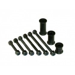 Header Tank Mounting Set - BLACK