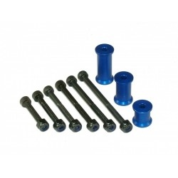 Header Tank Mounting Set - BLUE