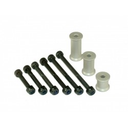 Header Tank Mounting Set - SILVER