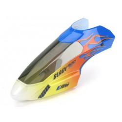 Eflite Body/Canopy, Flame w/Decals: B400