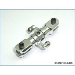 MicroHeli Precision CNC Tail Rotor (SILVER) - Blade 400