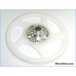 MicroHeli Precision CNC Lower Main Gear w/ Hub - Blade 400