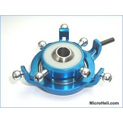 MicroHeli 120 CCPM Deluxe Swashplate ( BLUE ) - BLade 400