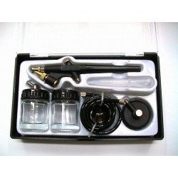Single-action air brush set - 9295