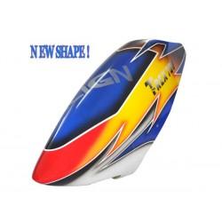 FUSUNO New Design SUNSET Airbrush Fiberglass Canopy Trex 700N EX