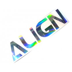 Align Decal Stickers (20 x 5 cm)
