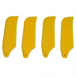 Tarot 450 Yellow Tail Rotor Blade