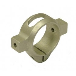 TREX 500 3D Lightweight Tail Clamp SILVER