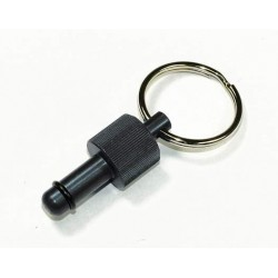 Exhaust Deflector Plug - 8mm - BLACK