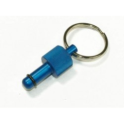 Exhaust Deflector Plug - 8mm - BLUE