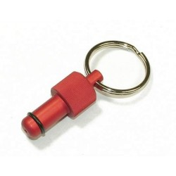 Exhaust Deflector Plug - 10mm - RED