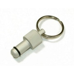 Exhaust Deflector Plug - 10mm - SILVER