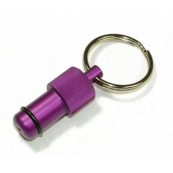 Exhaust Deflector Plug - 12mm - PURPLE