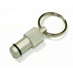 Exhaust Deflector Plug - 12mm - SILVER